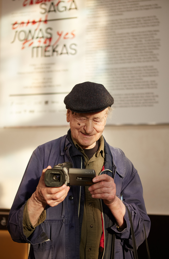 The Jewish Museum in New York is going to present Jonas Mekas