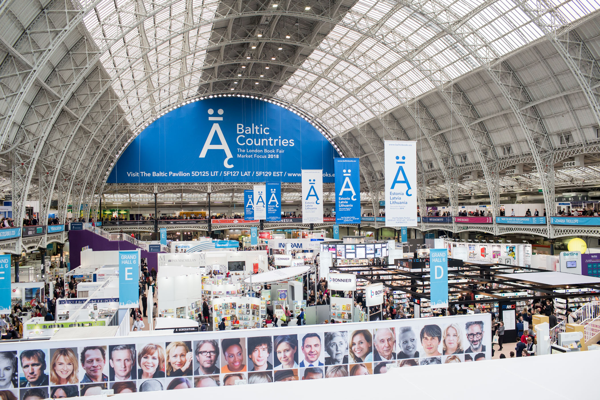 Lithuania at The London Book Fair Baltic Countries Market Focus Programme 2018: facts, figures and photos