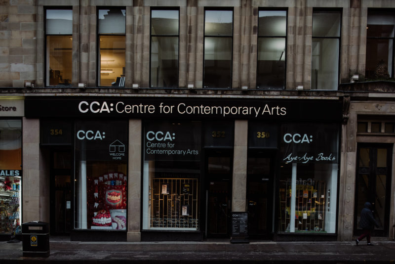 Two Lithuanian artists – in the artistic residency at the Centre for Contemporary Arts in Glasgow
