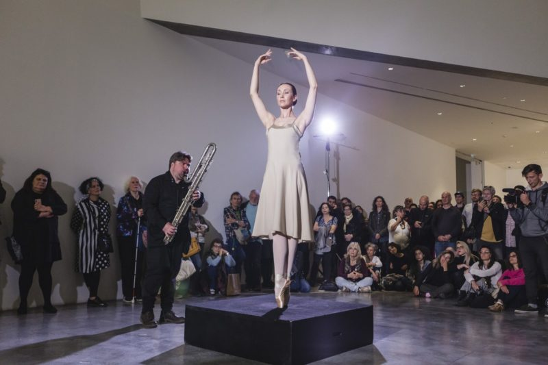 """Performances by Lina Lapelytė continued """"Lithuanian Story"""" in Tel Aviv"""