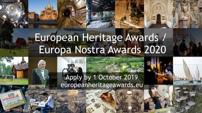 Call for Entries: ILUCIDARE Special Prizes within the European Heritage Awards / Europa Nostra Awards 2020