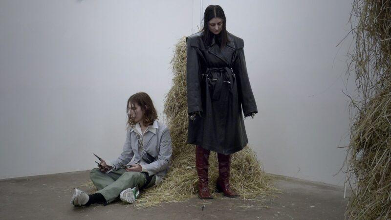 Eglė Kulbokaitė and Dorota Gawęda (Young Girl Reading Group)