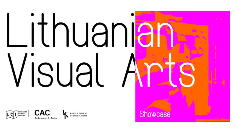 Lithuanian Visual Arts. Virtual Meetings with Artists and Curators