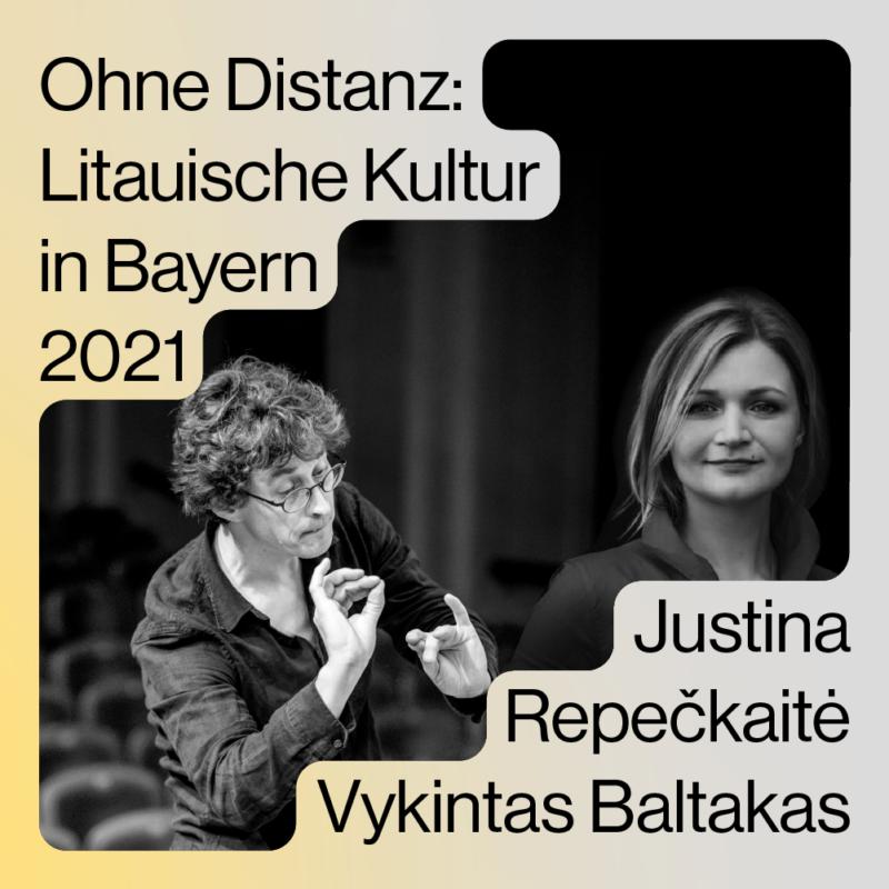 """Neue Musik im Kontext geschichtlicher Umbrüche – Im Rahmen des Litauischen Kulturjahres in Bayern 2021 findet am 4. Juli in der Spielstätte schwere reiter München das """"Themenkonzert Baltikum"""" statt"""