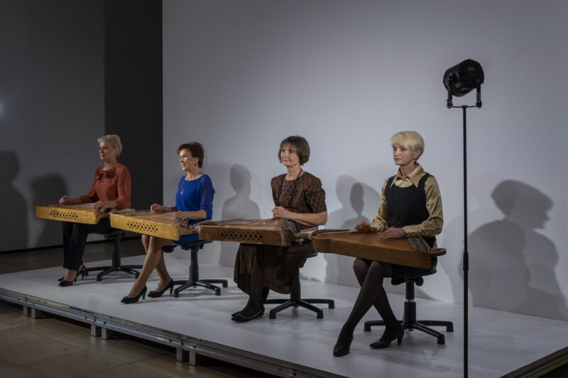 LITHUANIAN KANKLĖS PLAYERS OPENED THE SEASON OF THE LARGEST MUSEUM OF CONTEMPORARY ART IN MUNICH